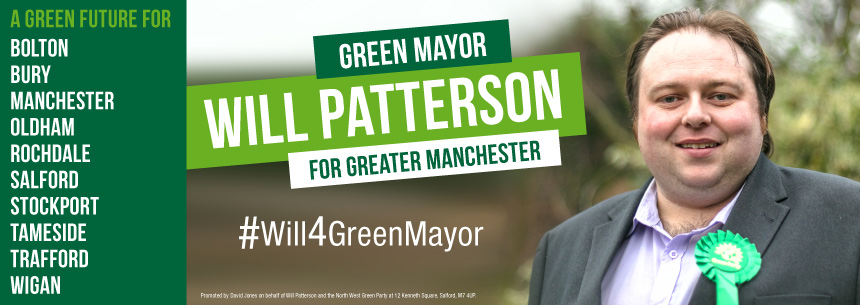 Will 4 Green Mayor of Greater Manchester